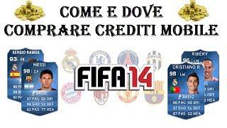 Come e Dove Acquistare Crediti Fifa 14/15/16 Mobile (IOS/ANDROID) ITA