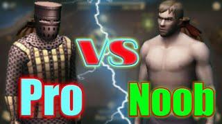 Grim Soul Dark Fantasy : #44 Pro vs Noob attacks & farming style 🌲