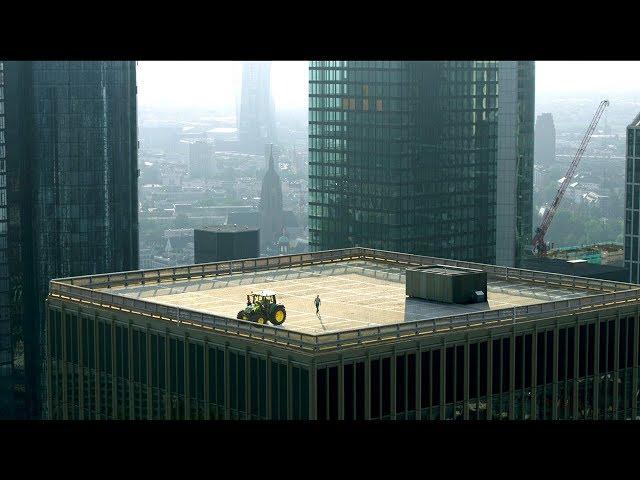 John Deere - Série 6M - Visibilité