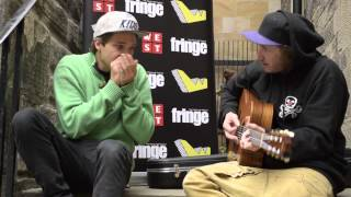 Jamie MacDowell and Tom Thum (Special Performance!) - Waffle TV @ The Edinburgh Fringe Festival 2013