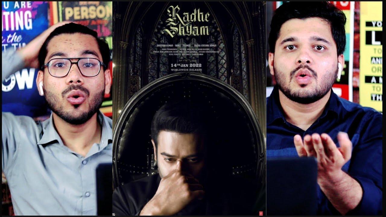Download Prabhas as Vikramaditya   Character Teaser Reaction   Radhe Shyam   Pooja Hegde   Radha K Kumar