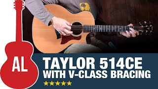 Taylor 514ce with V-Class Bracing