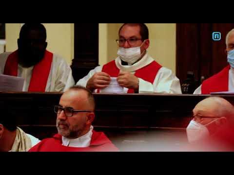 SERVIZIO LA NUOVA TG APERTURA SINODO DIOCESANO A T...