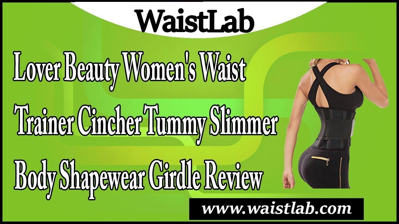 fc5183b0deb Lover Beauty Women s Waist Trainer Cincher Tummy Slimmer Body Shapewear  Girdle Review