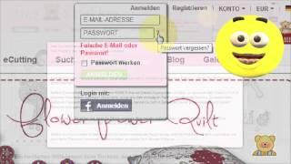 Mein Passwort geht nicht mehr