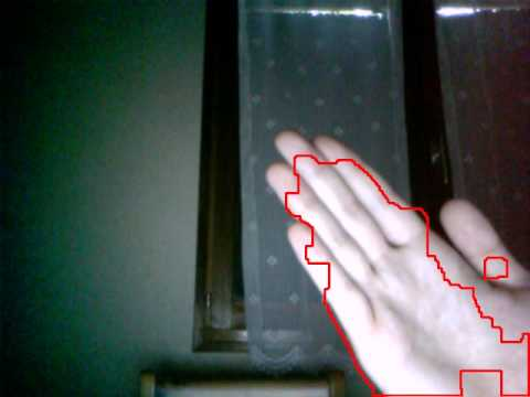 Motion detection (2) with OpenCV and python