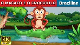 O MACACO E O CROCODILO   Contos de Fadas   Brazilian Fairy Tales