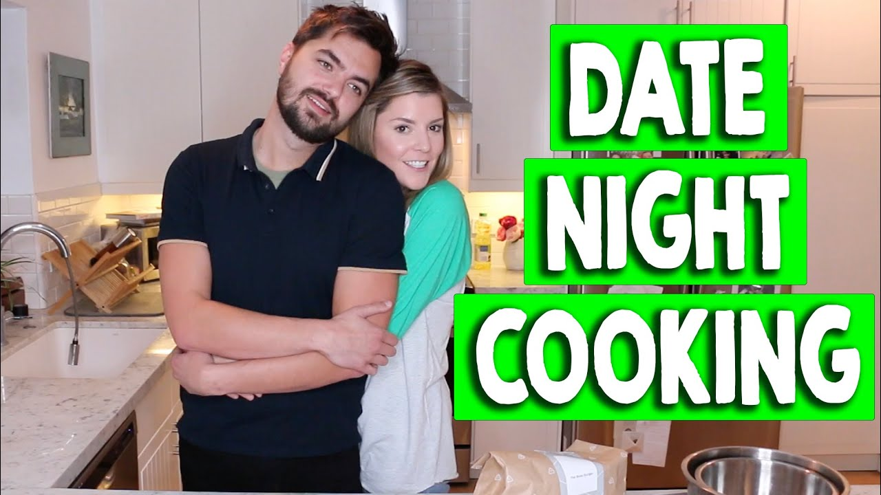 DATE NIGHT COOKING // Grace Helbig