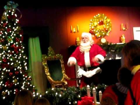 Santa's Coming Down the Chimney! - YouTube