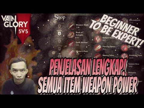 Vainglory Guide - PENJELASAN LENGKAP ITEM WEAPON POWER! Vainglory Indonesia