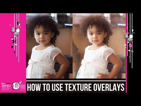 How To Use Texture Overlays - Photoshop Texture Tutorial - Working With Textures