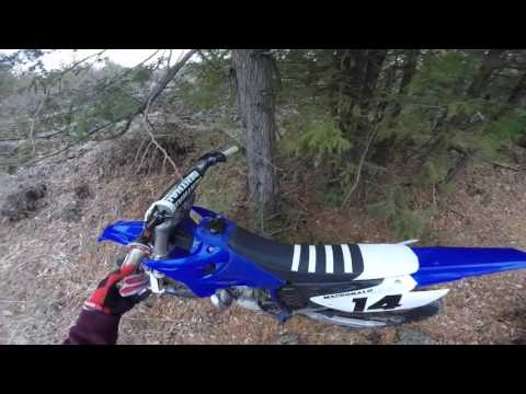 Finally Riding! | Yamaha YZ250 2 Stroke Road Riding | Looking For Trails