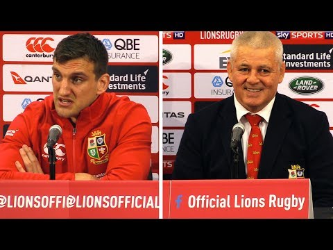New Zealand vs Lions - Third Test - Warren Gatland & Sam Warburton Full Post Match Press Conference