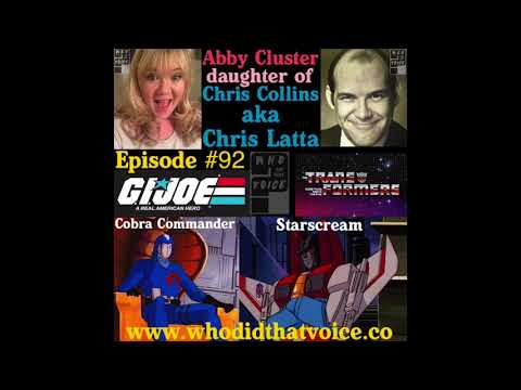 Abby Cluster  Actress & Daughter of Chris Latta  Episode 92