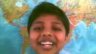 Smart kid reveals the benefits of listening to Bowli raga {Indian classical music}!