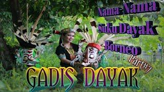 Gadis Dayak Cantik Dari Sub Suku Dayak Kalimantan   Pulau Borneo