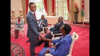 Muhoho Kenyatta with Famous people he has met.