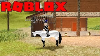 MADE HIM BE MY HORSE on ROBLOX and HE SERVED WELL-HORSE WORLD
