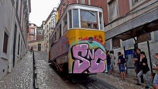 Lisbon funicular - Elevador da Glória