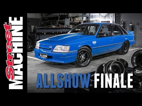 ALLSHOW - 7-SECOND VK COMMODORE BUILD - EPISODE 4