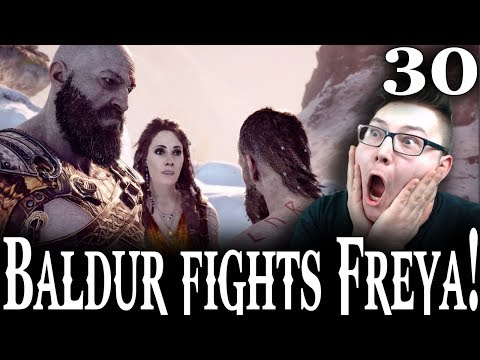 LAST BALDUR FIGHT #3 | GOD OF WAR 4 ENDING Gameplay Reaction Part 30
