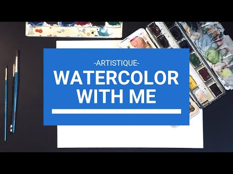 WATERCOLOR WITH ME