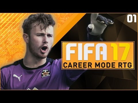 [NEW SERIES] FIFA 17 Career Mode RTG Ep1 - AIMING RIGHT FOR THE TOP!!