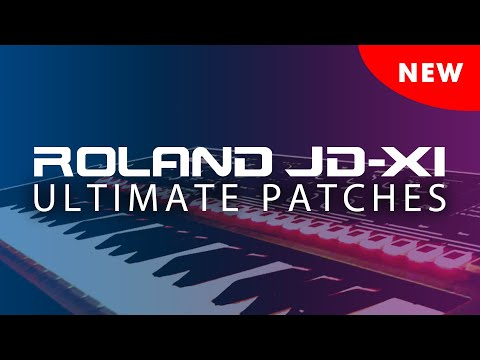 ROLAND JD-Xi ULTIMATE PATCHES • VOLUMES 1-4
