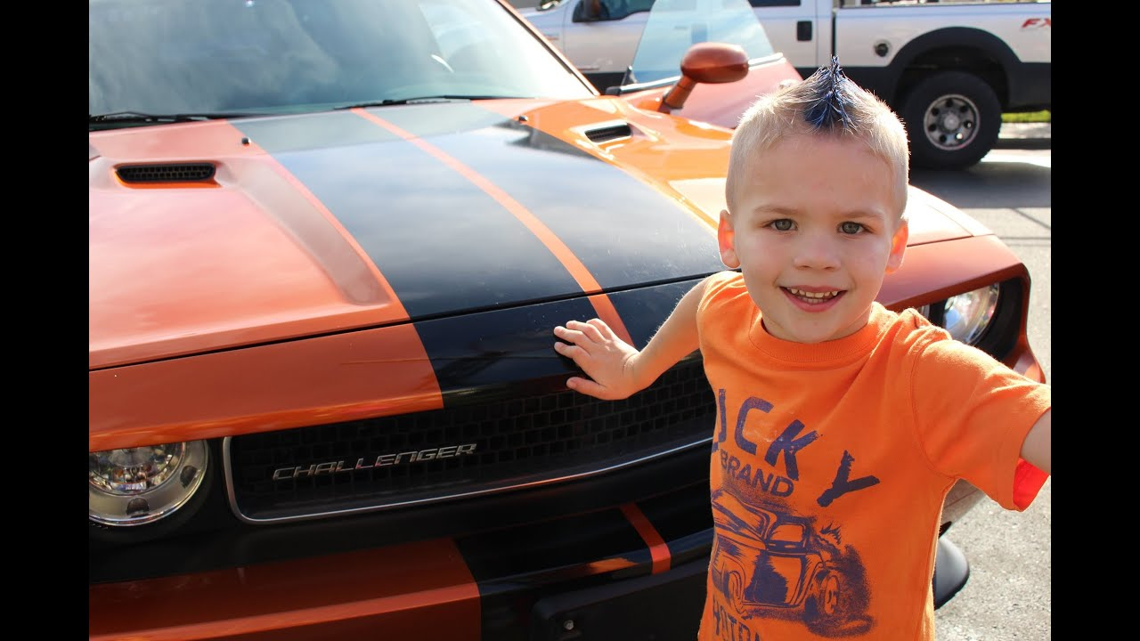 The Real Muscle Car Birthday Party Youtube