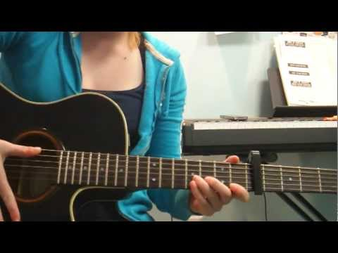 """How to Play """"Shake It Out (GLEE)"""" on Guitar"""