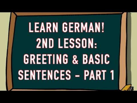 Learn german greetings basic sentences part 1 youtube learn german greetings basic sentences part 1 m4hsunfo