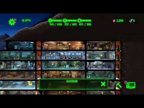 Dragoonflyz1122's Fallout Shelter Part 14 THE MYSTERIOUS STRANGER !!!!