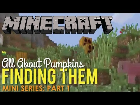 All About Finding Pumpkins In Minecraft Part