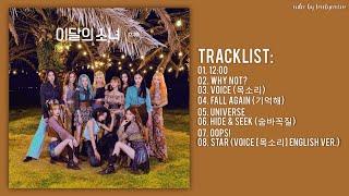 [Full Album] LOONA (이달의 소녀) – 12:00 (Midnight)