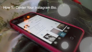 How To Center Your Instagram Bio FIXED! (CLICK THE LINK IN BIO)