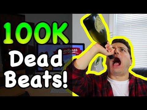 100K Deadbeats Celebration (Getting Drunk on Dom P - LIVE STREAM)