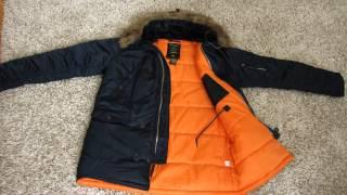 Смотреть видео куртки аляска