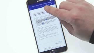 Samsung Galaxy S6 edge+ Tipps & Tricks: Microsoft Word