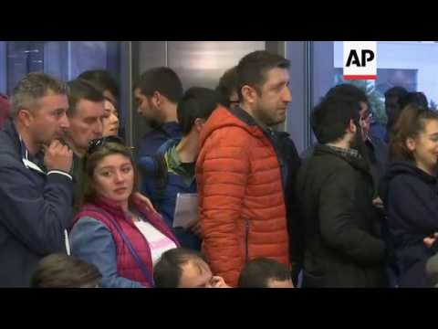 Opposition CHP supporters await result