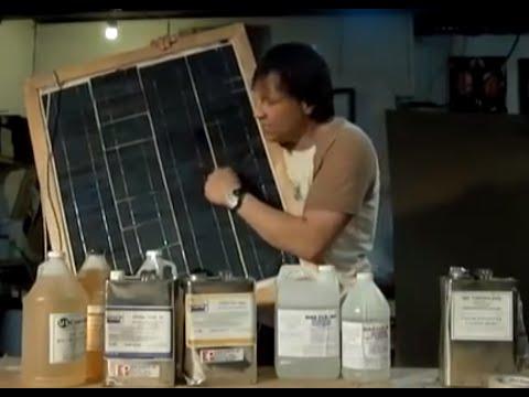 DIY Solar Panel $1 A WATT DIY Part 3 Encapsulation Resin Overview Wood Frame