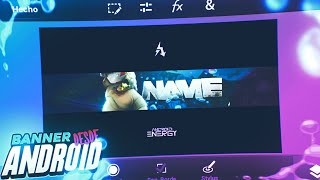 Como Hacer un BANNER desde Android!//Ps Touch//AndroidEnergy
