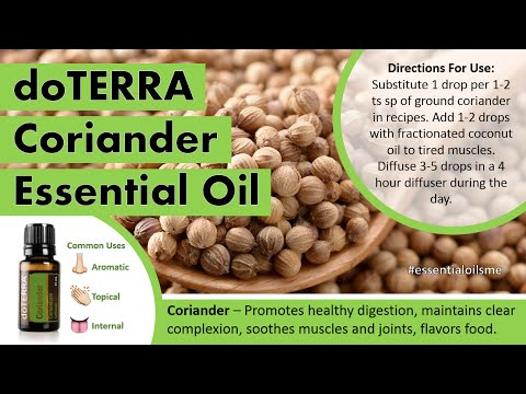 marvelous-doterra-coriander-essential-oil-uses