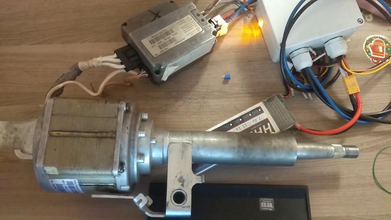 Мифы о ремонте электроусилителя. Эур рулит сам. Ремонт эур