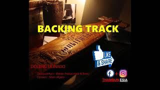 Backing Track Sape Instrument  Doleng Donado Cover  by Thambunesia