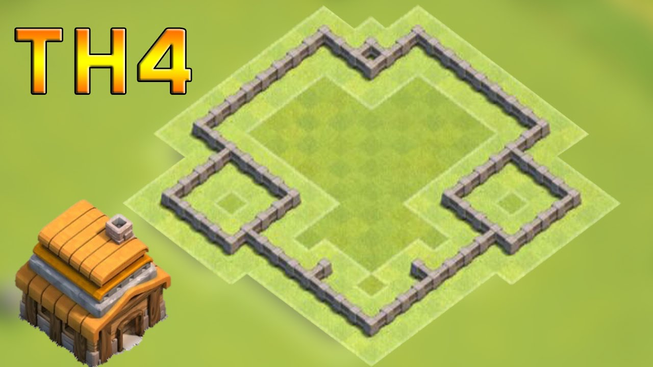 Clash of Clans (CoC) | Town Hall 4 Defense (TH4) BEST