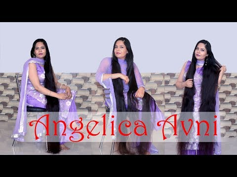 Thick Long Beautiful Silky Hair Oiling || Real Indian Rapunzel Scalp Massage thumbnail