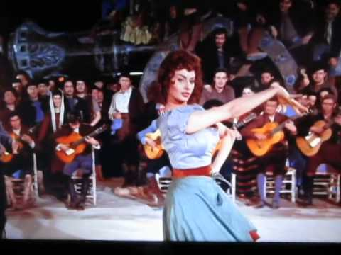 "Sophia Loren dances in 1957 film ""The Pride & The Passion"