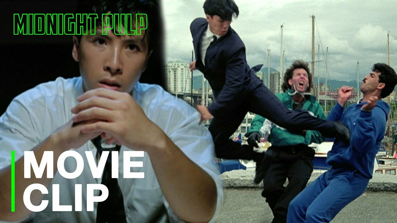 Download Donnie Yen best fly kick in the action movie game | 'In the Line of Duty 4: Witness (1989)