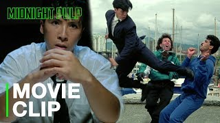 Donnie Yen fights two & shows no mercy | Clip from 'In the Line of Duty IV: Witness' [HD]