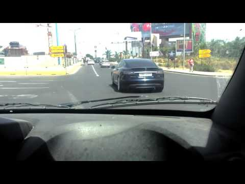Tesla Model S Spotted in Morocco Casablanca